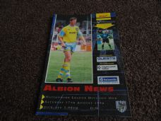 West Bromwich Albion v Barnsley, 1996/97